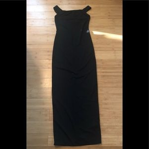 Boohoo | Bodycon Black Maxi Dress Size US8